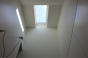 Photo showing skylight installed in a BASIX compliant home