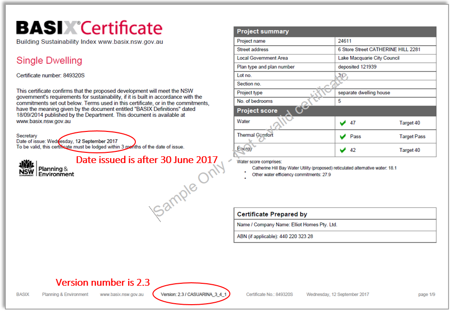 example certificate1 preJuly